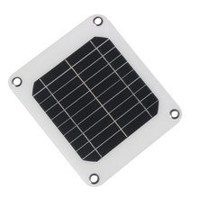 Portable 5V 5W Monocrystalline Solar Panel Charger Solar Power Sunpower Solar Cells For Mobile Phone Smartphones Dropshipping!