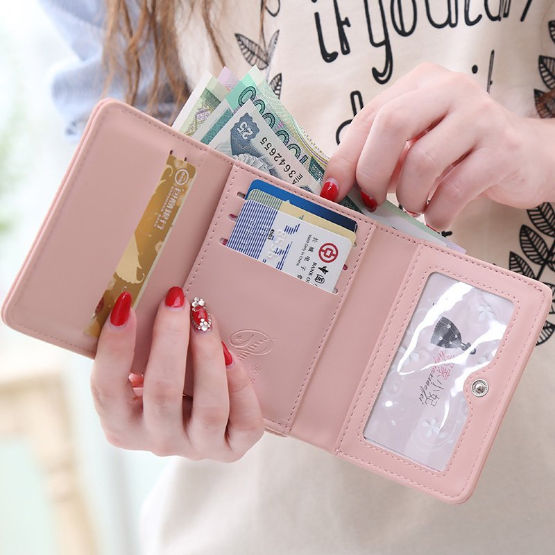 ferrolho bolsa feminina de couro Wallets : Rfid Wallet, slim Wallet, mini Wallets, Small Wallets,