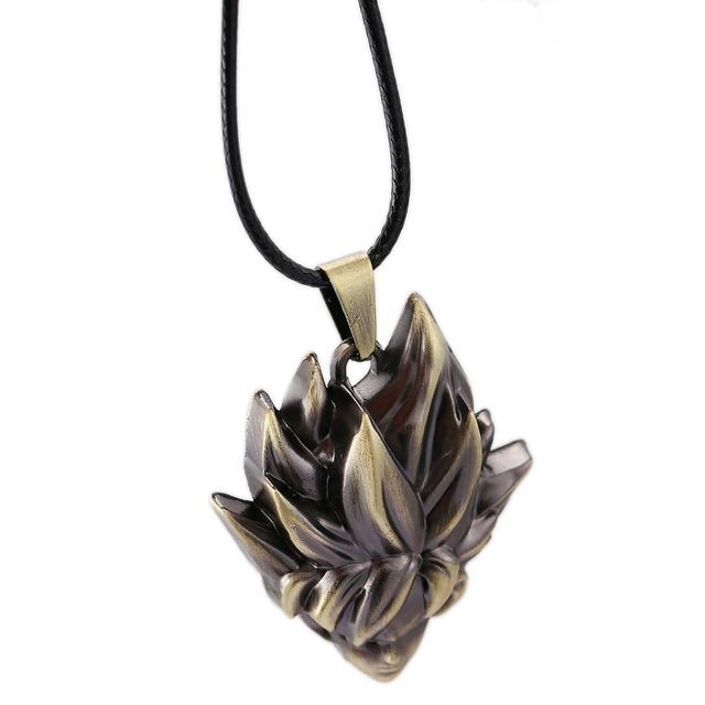 Dragon Ball Choker Necklace Super Saiyan Son Goku Pendant Men Women Gift Anime Jewelry Accessories YS11517