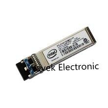 Модуль приемопередатчика Intel E10GSFPLR, 10G, одномодовое Оптическое волокно SM Ethernet SFP +, 1310 нм, 10 км для FTLX1471D3BCV IT