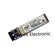 Intel E10GSFPLR FTLX1471D3BCV IT 10G เส้นใยโหมดเดี่ยว SM Ethernet SFP + Transceiver โมดูล 1310 NM 10km สำหรับ x520 DA2