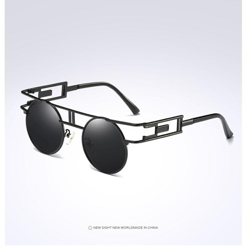 Lunettes Hommes Jambe droite Design Conduite sécuritaire Polarized Light Anti-UV Sunglasses QdSsA0