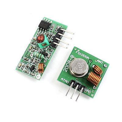 433Mhz WL RF Transmitter + Receiver Module Link Kit for Arduino/ARM/MCU Wireless все цены