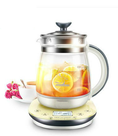 цена на Electric kettle Health pot full automatic multi-function thickening glass 1.5l reappointment time electric Overheat Protection
