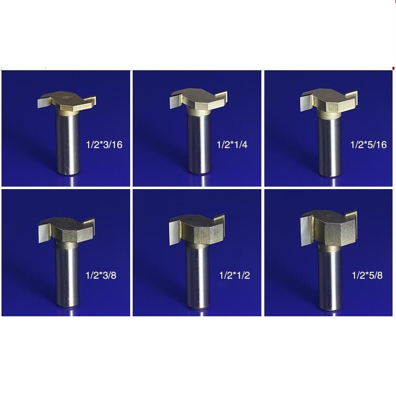 1pc Proffesional Grade Tungsten Carbide Woodworking T Shape Slot Engraving Flush Trim CNC Router Bit Mill Cutter TD-Px1-2X1-2 machine wood cutter bits 2 double flute straight cutting mdf woodworking router bit flush trim bit mill cutter slot carving tool