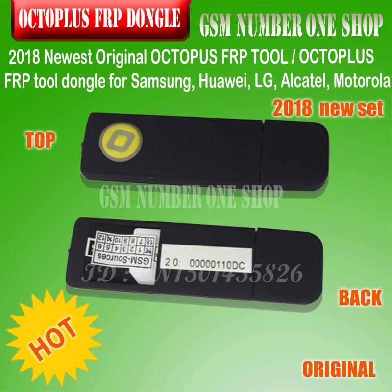 OCTOPLUS FRP OUTIL dongle pour Samsung, Huawei, LG, Alcatel, Motorola téléphone portable