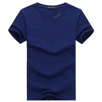 2019 6pcs/lot New Fashion Brand O-Neck Slim Short Sleeve T Shirt Men Trend Casual Mens T-Shirt Korean T Shirts 3XL 4XL 5X 2