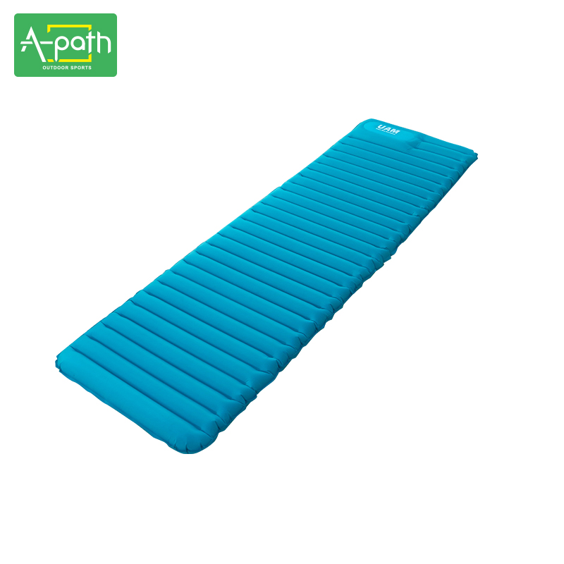 2017 New Outdoor Super Light TPU Air Cushion Bed Camping Mat Single Inflatable Mattress Travel Mountaineering Field Equipment durable thicken pvc car travel inflatable bed automotive air mattress camping mat with air pump