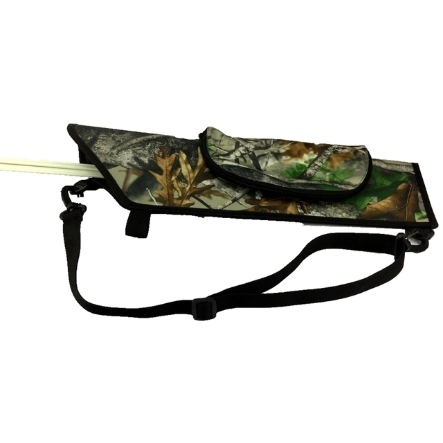 carbon pocket bag and sport tag nock archery arrow quiver ammo rubber tubing arow for fishing af. hunting slingshot sling bow