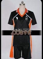 무료 배송! Haikyuu! karasuno 고등학교 배구 클럽 스포츠 유니폼 코스프레 의상, 완벽한 사용자 정의!