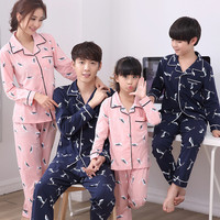 Pajamas For Boys Sleepwear Baby Pajamas Set Children Nightgown Tshirt +Pants Sports Set Family Matching Outfits Mom Mommy