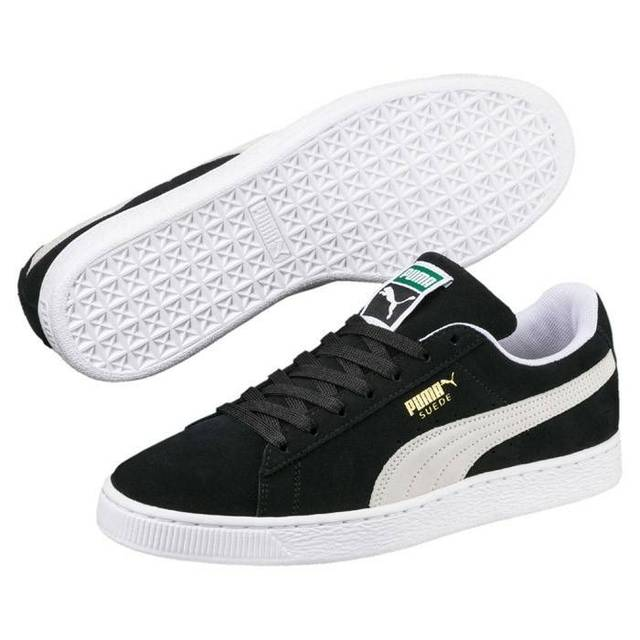 c39e44912bd 2019 New Arrival Original Puma Adult Suede Classic Shoe Men s Women s  Badminton Shoes In Black Old-school Sneakers Big Size