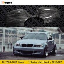 Крышка для зеркала из углеродного волокна для BMW 1 серия хэтчбек 116i 120i 130i 135i E81 E87 2009-2011 год крышка заднего зеркала автомобиля(палка-на