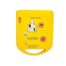1 Set Nuovo Aed Trainer Automatizzato Dispositivo di Addestramento di Rianimazione Cardiopolmonare Senza Sostituibile Lingua Card per Emergenza