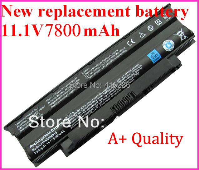 New 9Cell Replacement Laptop Battery for DELL Inspiron 13R/14R/15R/17R N7010 N5010 N4010 N3010 N3010D TKV2V 4T7JN + Mail
