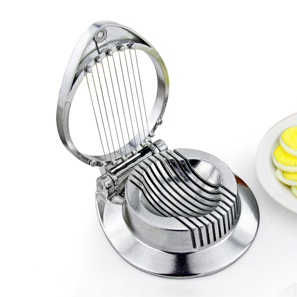 Table High Quality Aluminum Handy Egg Slicer Cooking Tools Eggs Knife Egg  Cutter Multifunctions Kitchen Supplies Free Shipping In Egg Slicers From  Home ...