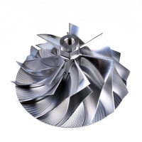 Kinugawa Turbo Billet Compressor Wheel 59.87/80.07mm 7+7 Reverse for Ford Power Stroke F 250 7.3L GTP38