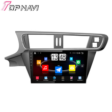 "10.1"" Quad Core Android 4.4 Car PC GPS For Citroen C3-XR With Stereo Radio 16GB Flash Mirror Link Without DVD Free Shipping"