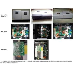 Image 5 - 3000VA 2400W Pure Sine Wave Inverter PWM Built in Solar Charge Controller 24VDC Input 220VAC Output Hybrid Inverter PS 3K
