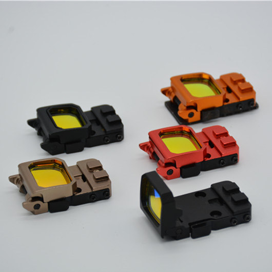 New Arrival Vism Flip Red Dot Pistol Sight RMR Holographic Reflex Sight for Airsoft Hunting for