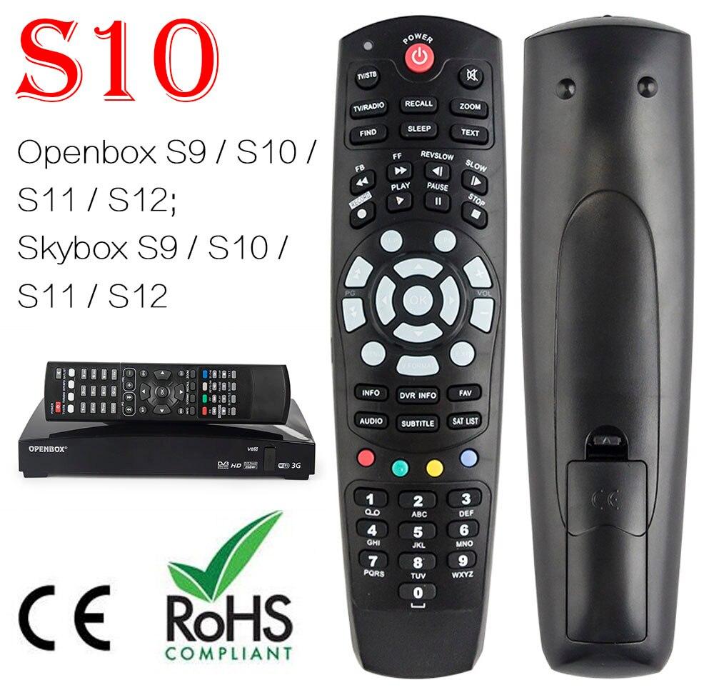 1 stück fernbedienung für OPENBOX/SKYBOX S9 S10 S11 S12 F3S F5S F4S HD PVR digitalen satelliten-receiver freies verschiffen