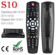 Controle remoto para abridor/skybox s9, controle remoto digital s10 s11 s12 f3s f5s f4s hd pvr, receptor de satélite digital, 1 peça frete grátis, frete grátis