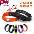 PINWEI Smart Wristband ID107 Watch Heart Rate Monitor Remote Bluetooth SMart Band Bracelet Pedometer Fitness Smartband Reminder
