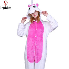 Cartoon Unicorn Animal Pajamas Stitch kigurumi pajama Bear Koala  Onesie Adult Unisex Costume Sleepwear Piece pajamas SY377
