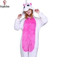 Cartoon Unicorn Animal Pajamas Stitch Dinosaure Bear Koala Pikachu Onesie Adult Unisex Costume Sleepwear For Women