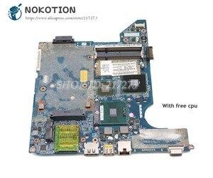 NOKOTION For HP Compaq presario CQ40 Laptop Motherboard JAL50 LA-4103P 590316-001 577512-001 G103M graphics free cpu