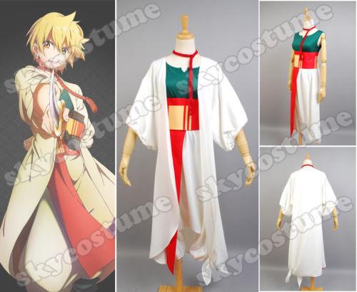 Magi :The Labyrinth of Magic Alibaba Saluja Cosplay Costume Uniform Halloween costume Custom Made