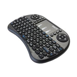 Image 4 - 5 pièces i8 Mini clavier sans fil 2.4GHz anglais hébreu arabe russe QWERTY clavier pavé tactile pour xiaomi Android TV Box ordinateur portable