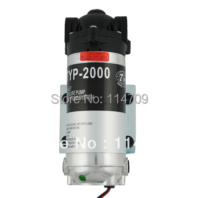 200gpd Water Filter RO Booster Pump for Reverse Osmosis System Pressure Increase ro water filter parts 24vdc water pump high pressure booster for 50 75 gpd machine increase reverse osmosis system pressure