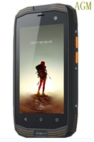 Original AGM IP68 Rugged Waterproof Phone 2GB RAM 16GB ROM Quad Core 2600mAh Dustproof CDMA2000 4G