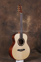 Professional Full Solid  Guitar,36 guitar with Spruce Top/ Santos Body, guitars china,with mahogany by hand