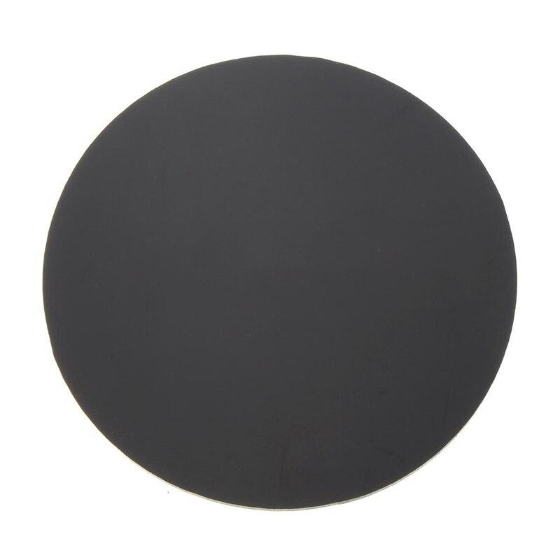 Black 3mm Acrylic Plastic Circular Plate Laser Cutting Round Mirror Diameter: 50mm