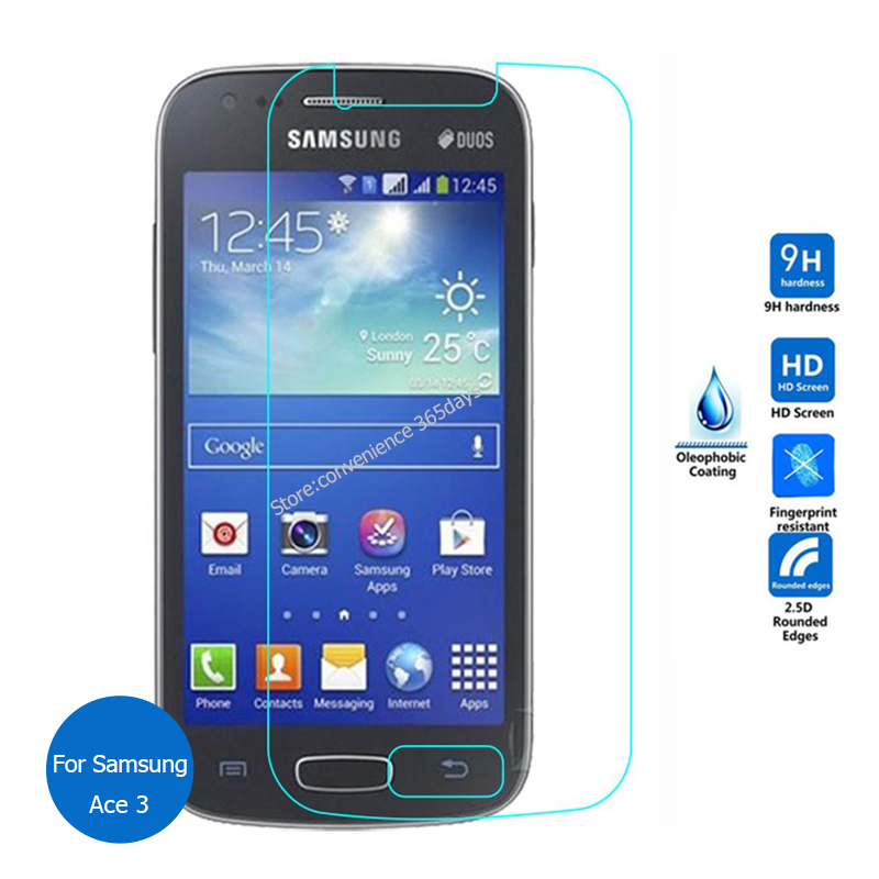 2PCS For <font><b>Samsung</b></font> <font><b>Galaxy</b></font> Ace 3 Tempered Glass Screen Protector 9h Safety Protective glass on <font><b>ace3</b></font> duos S7270 Gt-S7270 Gt-<font><b>S7272</b></font> image