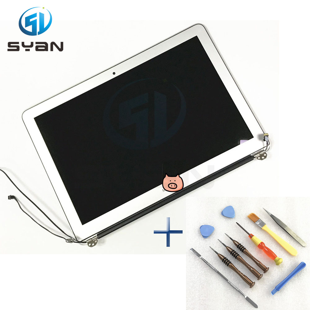 New A1466 LCD screen assembly for Macbook Air 13 3 LCD Display Glass with screwdriver Tool
