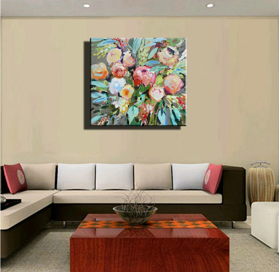 Large Painting For Living Room Large Acrylic Paintings For Living Room Home Decor Modern Acrylic