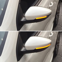 2 Pieces Led Side Wing Dynamic Turn Signal Light For Vw Passat Cc B7 Beetle Scirocco Jetta Mk6 Rearview Mirror Indicator все цены
