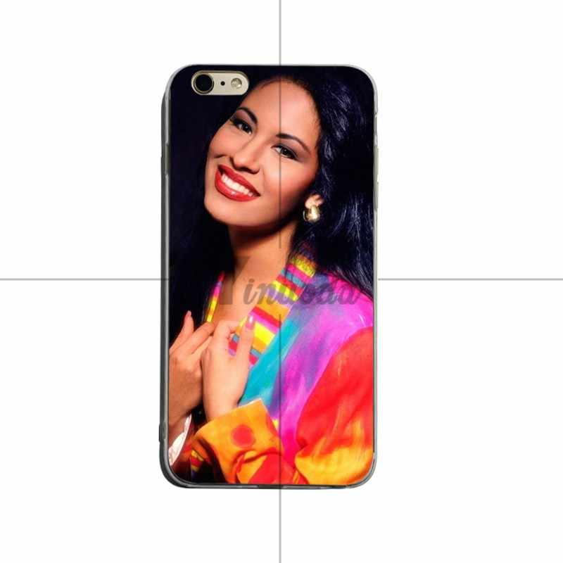 Yinuoda Yêu Thích Của Tôi Selena Quintanilla Silicone Mềm Cover Cho iPhone X XS XR Xsmax 5 5S SE 8 8 Plus 7 7 Plus 6 6 S 6 Splus