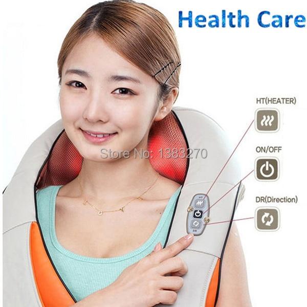 2019 nouveaux produits 12 V utile cou épaule massage ceinture équipement de massage comme on le voit à la télévision