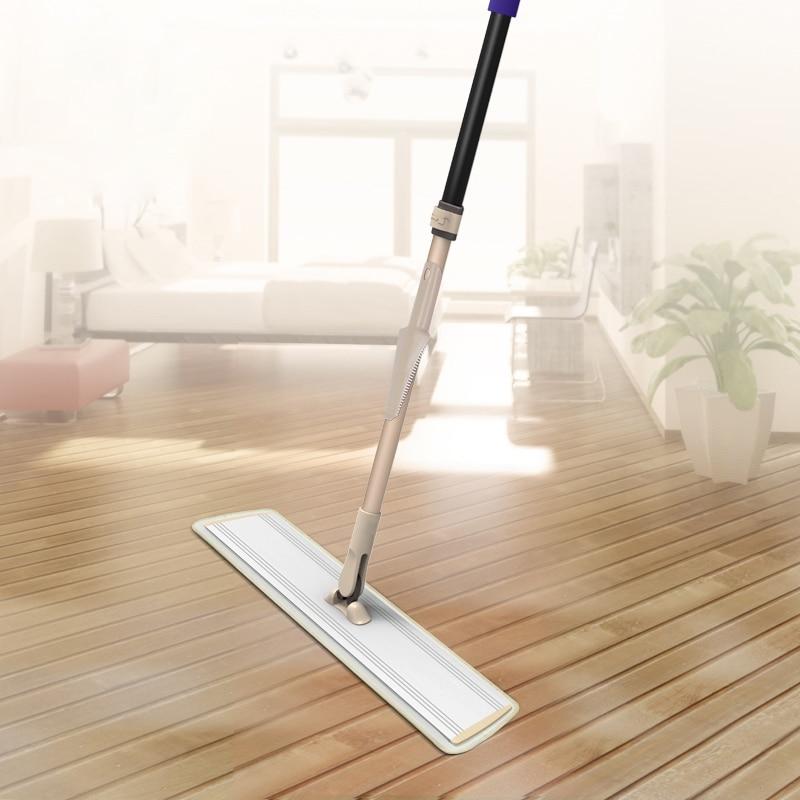 60cm Width Aluminum Flat Mop Large Dust Mop Household