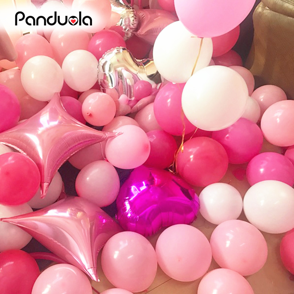 10 Inch Thick 2.2g Latex Ballons Birthday Wedding Decorations Air ...