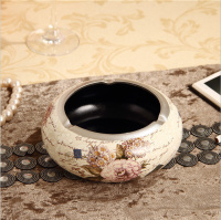 Lavish European Resin Ashtray 2
