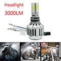 1 ШТ. H4 9003 HB2 LED Автомобиль Мотоцикл Фар Лампа Высокая Низкая луч 24 Вт 3000LM 6000 К DC12V 24 В Противотуманные Фары Яркий Бесплатная Доставка новый