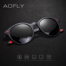 AOFLY 브랜드 디자인 남성 선글라스 편광 된 타원형 프레임 선글라스 여성 남성 빈티지 Unisex 고글 Oculos De Sol AF8112