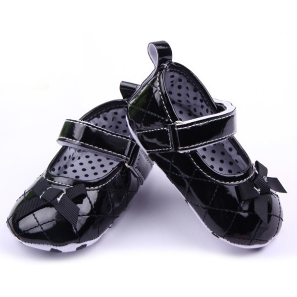Amazing Price Baby Girl Infant Toddler Shoes Mary Jane Soft Sole Antislip Prewalker Crib Shoes