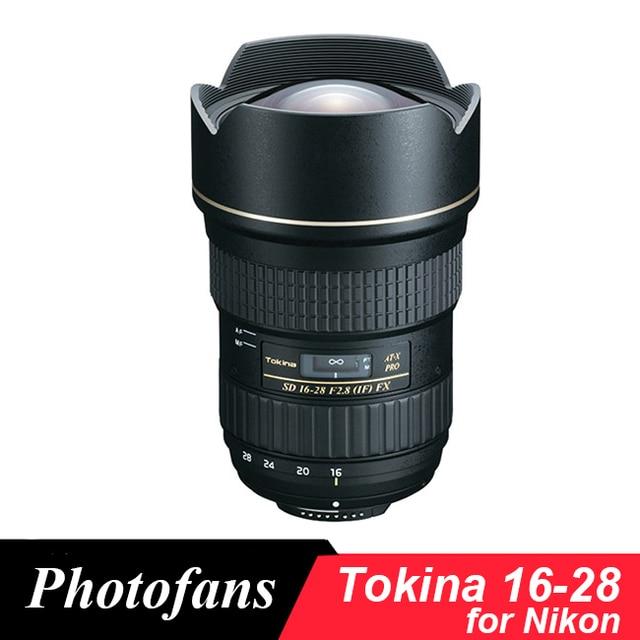 Tokina AT X 16 28mm f/2.8 lente pro FX para Nikon D600 D610 D700 ...