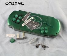 1 סט מעטפת משחק קונסולת החלפת מלא שיכון כיסוי מקרה עם כפתורים ערכת עבור PSP3000 PSP 3000